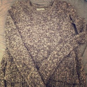 Abercrombie and Fitch Grey Women's Sweater